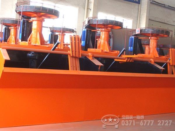 xj型号浮选机工作原理|郑州浮选机性能优势