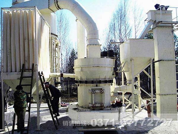 石灰石磨粉工艺 脱硫石灰石粉生产线