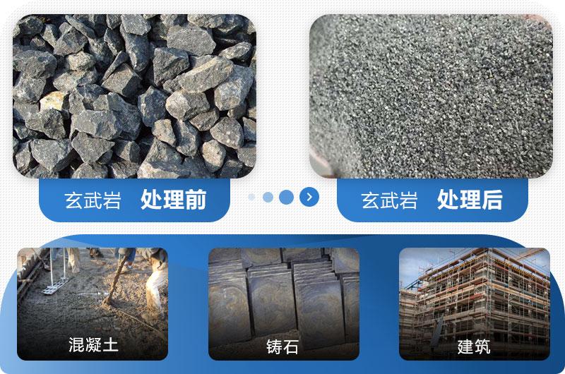 玄武岩机制砂的用途