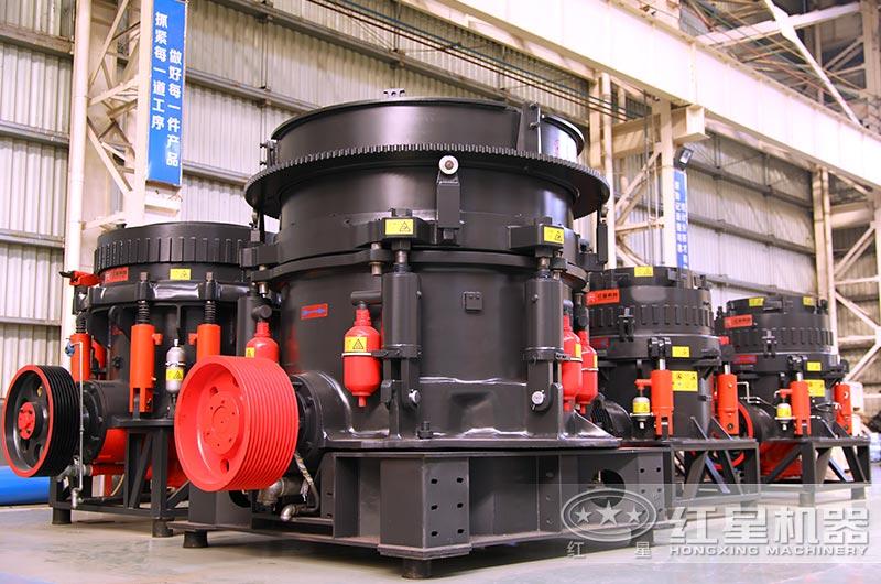 hp300圆锥破碎机每小时产多少吨?型号及参数说明