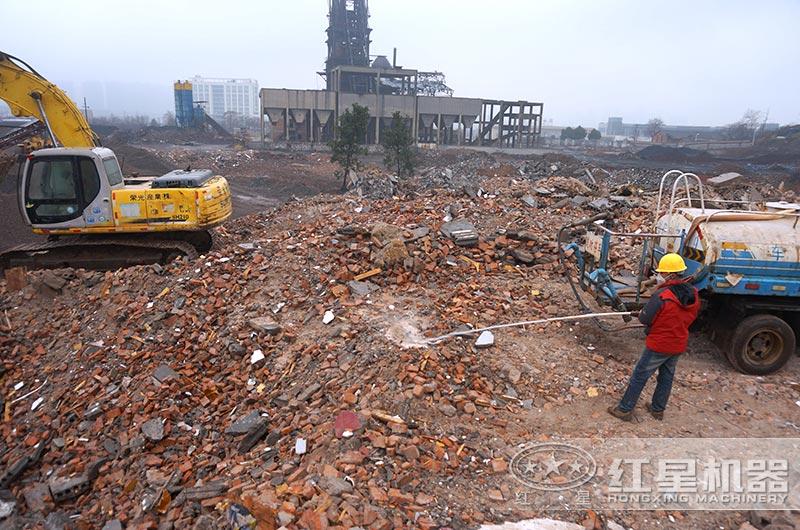 工地垃圾怎么处理?工地垃圾粉碎机器多少钱?