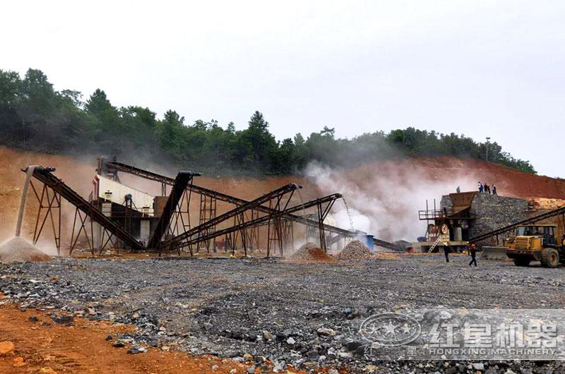 江苏客户碎石生产线