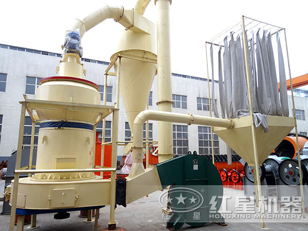 新型三环微粉磨粉机工艺流程